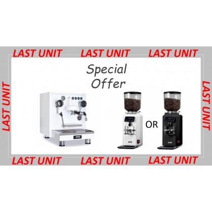 WPM KD-410 Espresso Coffee Machine + WPM ZD-18 Coffee Grinder