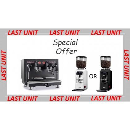 WPM KD-510 Espresso Coffee Machine + WPM ZD-18 Coffee Grinder
