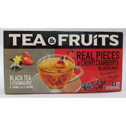 Tea&Fruits Black Tea Strawberry&Vanilla
