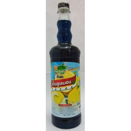 Ding Fong Syrup Blue Lemon