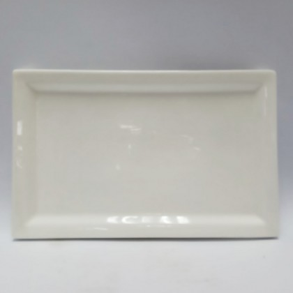 10inch - Square Plate with Edge
