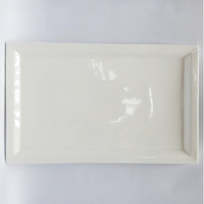 14inch - Square Plate with Edge