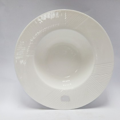 10inch - Spaghetti Bowl with pattern
