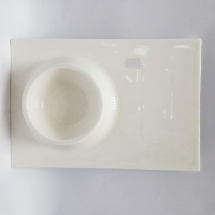 12inch - Flat Plate With Bowl