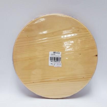 Circle Wooden Tray