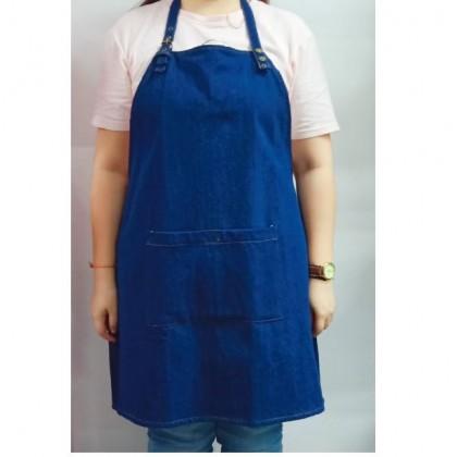 Barista Apron - Blue Jeans
