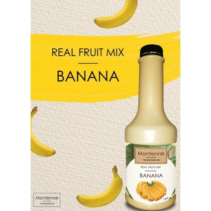 MONTENNE REAL FRUIT MIX Banana