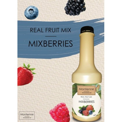 MONTENNE REAL FRUIT MIX MIXBERRIES