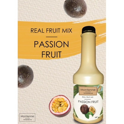 MONTENNE REAL FRUIT MIX PASSION FRUIT